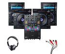 Denon LC6000 (x2) + SC6000 (x2) + Rane Seventy with Headphones + Cable