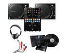 Pioneer PLX-1000 (Pair), DJM-S7 + DVS Kit w/ Headphones & Cable