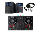 Numark Party Mix II + N-Wave 360 (Pair) w/ Headphones + Cable