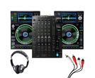 Denon X1850 + SC5000 (Pair) w/ Headphones + Cable
