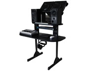 Sefour X15 Studio DJ Deck Stand Black