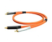 Oyaide NEO d+ RCA Class A Orange/Black 1.0M