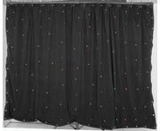 QTX 1x2M Black Star Cloth with 36 RGB LEDs