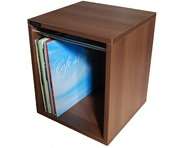 Sefour Vinyl Record Carry Box 60 Tobacco Walnut (VC030-909)