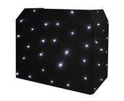 Equinox DJ Booth LED Starcloth