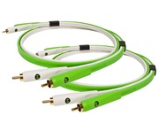 Oyaide NEO d+ RCA Class B White/Green 1.0M (2 Cable Set)