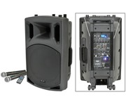 QTX QX12PA Portable PA Speaker with USB/SD/FM Player & Bluetooth