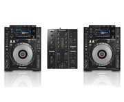 Pioneer CDJ900 Nexus Pair & DJM350 Package