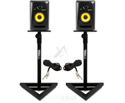 KRK Rokit RP5 G3s With Monitor Stands & Cables