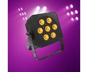 LEDJ Slimline 7Q5 RGBA (Black Housing)
