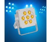 LEDJ Slimline 7Q5 RGBA (White Housing)