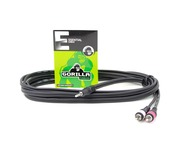 Gorilla Essential Cable 3m Mini Jack To 2 x RCA Phono Insert Lead