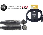 STAGG Pro Cable Male XLR To Female XLR