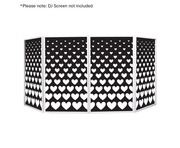 Equinox DJ Screen Heart Design Lycra