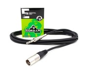 Gorilla Essential Cable 3m Male XLR To Stereo Jack Balanced Lead