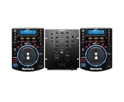 Numark NDX500 and Numark M2 Mixer Package
