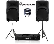 2x Mackie SRM450 v3 with GSS-Kit and Cables Package