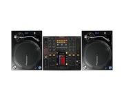 Pioneer PLX-1000 and Pioneer DJM2000 Mixer Package