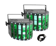 Chauvet Kinta FX (Pair) With Free 3m DMX Cable