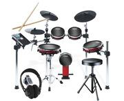 Alesis Crimson Mesh Kit with Drum Stool and Headphones