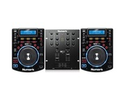 Numark NDX500 & Numark M101 USB Black Mixer Package