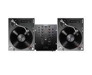 Numark TT250 USB Turntables & Numark M2 Black Mixer Package