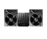 Numark TT250 USB Turntables & Numark M4 Black Mixer Package