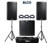 Alto 2x TS212 Speakers & 1x TS212S Sub