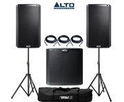 Alto 2x TS215 Speakers & 1x TS215S Sub