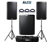 Alto 2x TS215 Speakers & 1x TS218S Sub