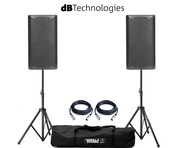dB Technologies Opera 10 Pair with Stands & Cables