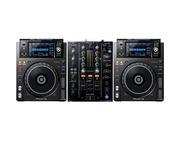 Pioneer DJ XDJ-1000 MK2 and Pioneer DJM-450 Package