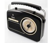 GPO Rydell Nostalgic Radio 4 Band Black