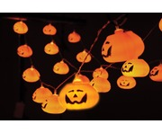 QTX 20x 3D Halloween Pumpkin Battery Lights