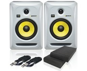 KRK Rokit RP6 G3 W & Isolation Pads and Cables
