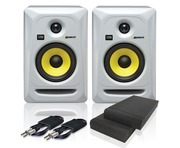 KRK Rokit RP5 G3 W & Isolation Pads and Cables