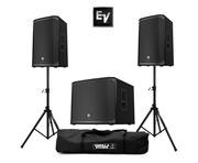 Electro-Voice 2x EKX-12P & 1x EKX-15SP Sub
