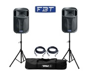 FBT J12A (Pair) with Stands & Cables