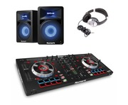 Numark Mixtrack Platinum with N-Wave 580L Speakers Package