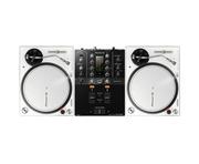Pioneer DJ PLX-500 White & DJM-250MK2 Mixer Package