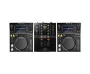 Pioneer XDJ-700 & DJM-250MK2 Mixer Package