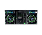 Denon SC5000 (Pair) & Denon X1800 Mixer