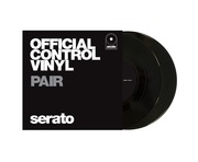 "7"" Serato Official Control Vinyl (Pair) Black"