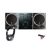 Numark NTX1000 DJ Turntables with M101 Mixer & Headphones