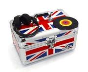"Gorilla 200pcs 7"" Singles Vinyl Storage Case (Union Jack)"