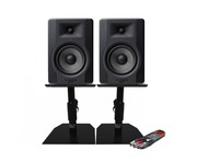 M-Audio BX5 D3 Monitors with Desktop Stands & Cable
