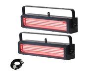 Equinox Blitzer LED Strobe RGB (Pair) & Cable