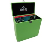 "Gorilla LP-45 Retro 12"" Vinyl Record Storage Box (Surf Green)"