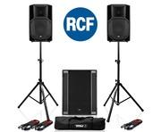 RCF Art 712-A MK4 PA Speaker (x2) & RCF Sub 708-AS II Sub (x1)