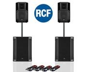 RCF Art 712-A MK4 PA Speaker (Pair) & RCF Sub 708-AS II (Pair)